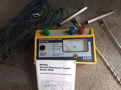 Aemc 3620 Analog Ground Resistance Tester