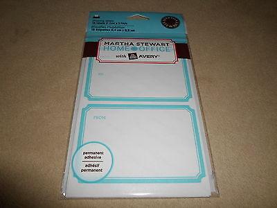 18 Martha Stewart Home Office Inkjet Laser Shipping Labelsnew In Package