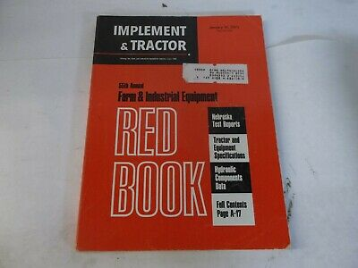 1971 Red Book Implement Tractor Tillers Chainsaws Blowers Combines Augers Belt