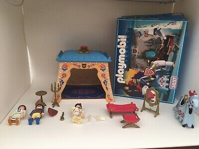 Playmobil Royal Tent 3837 by 1995 Knights Castle King Queen Knight Castle