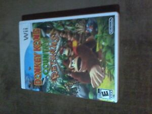 Brand new Donkey Kong Country Return's for Wii $20.00