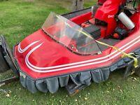 1997 HoverJet GT hovercraft with trailer boat