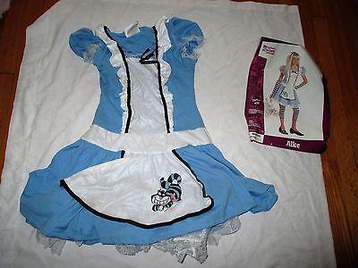California Costume Alice In Wonderland Dress Only Tween Girls Size Large 10-12 ](Tween Alice In Wonderland Costume)