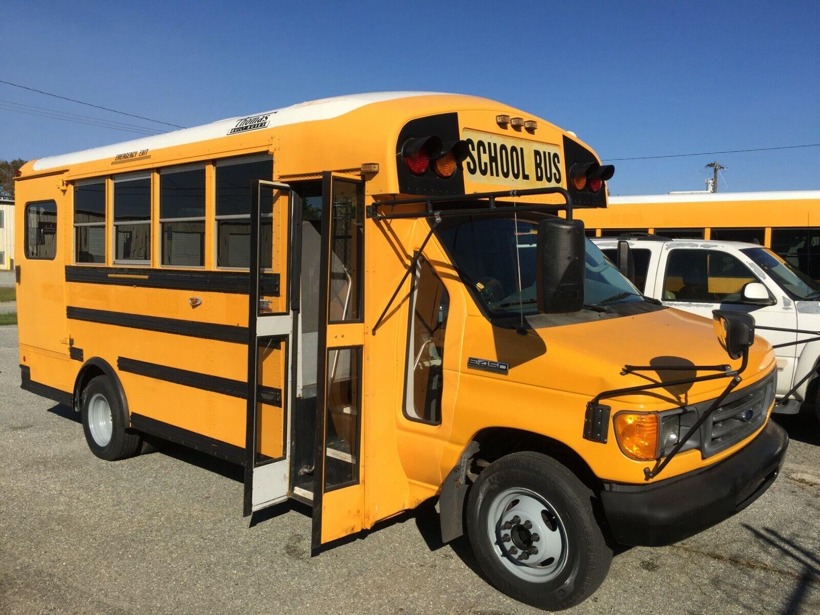 2006 FORD E450 MOBILITY SCHOOL BUS TRUCK VAN RV CAMPER