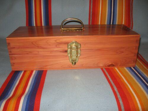Osage made Native American Cedar Box: Church, Gourd, NAC, Feathers, PowWow
