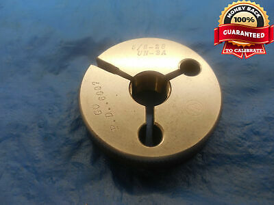 58 28 Un 2a Thread Ring Gage .625 Go Only P.d. .6007 N-2a 58-28 Quality