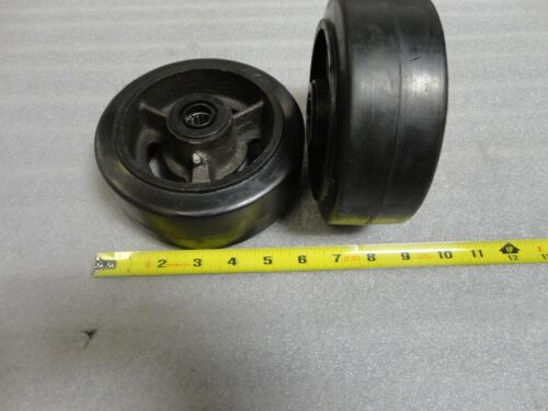 """6"""" Wheels with Bearings - Pair"""