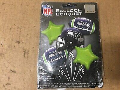 Balloons Seattle (Seattle Seahawks Bouquet Foil Mylar Balloon SHELF)