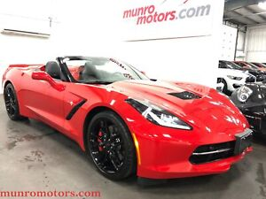 2016 Chevrolet Corvette Stingray Z51 Convertible w-2LT 8 Speed A