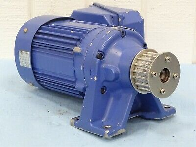 Sm-cyclo Tc-fx 3-phase Induction Motor 14hp Wcnhm02-6070yc-8 Gear Reducer 81