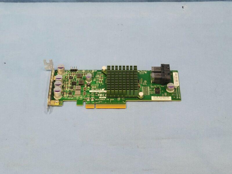 SuperMicro AOC-S3008L-L8E 12Gb/s SAS 8 Port Internal PCIe HBA Controller Low Pro