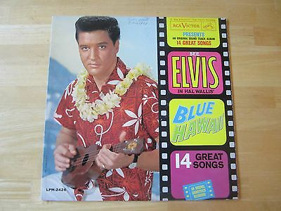 Elvis Presley LP: Blue Hawaii, RCA # LPM-2426, First Pressing, 1961 Long Play