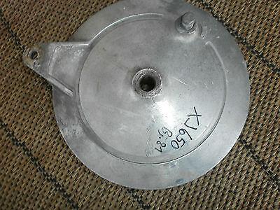 YAMAHA XJ650  Typ. 4KO Bremsankerplatte / Bremsbackenhalteplatte / Bremsbacken