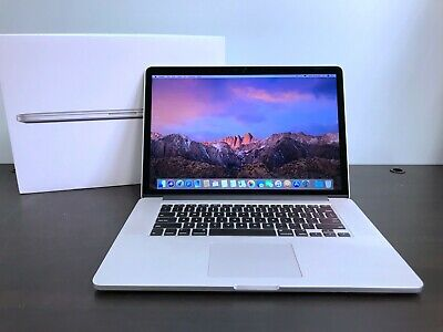 MacBook Pro 15 Retina 2015 / 2.8GHz Quad Core i7 / 1TB SSD / R9 GPU! / Warranty