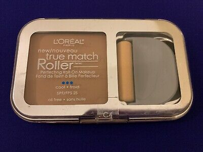 L'Oreal True Match Roller Perfecting Roll On Makeup ~ Shell Beige C4 ~