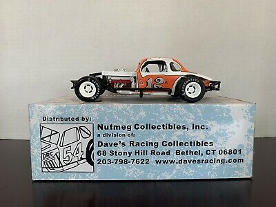Ertl Nutmeg Collectibles #12A Jack Johnson Modified Coupe 1/25 Diecast Car