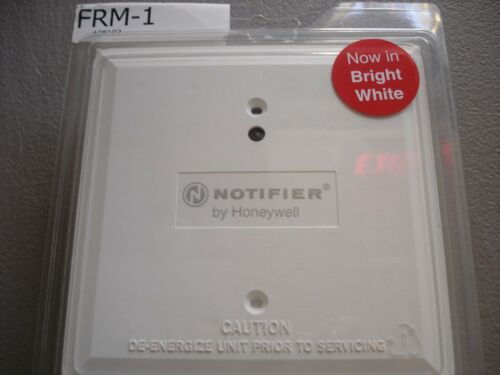 """NOTIFIER FRM-1 (WHITE)   """"NEW"""""""