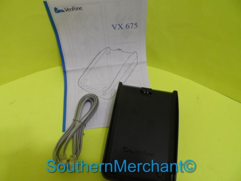 Verifone Vx675 Wireless Full Featured, Base, New