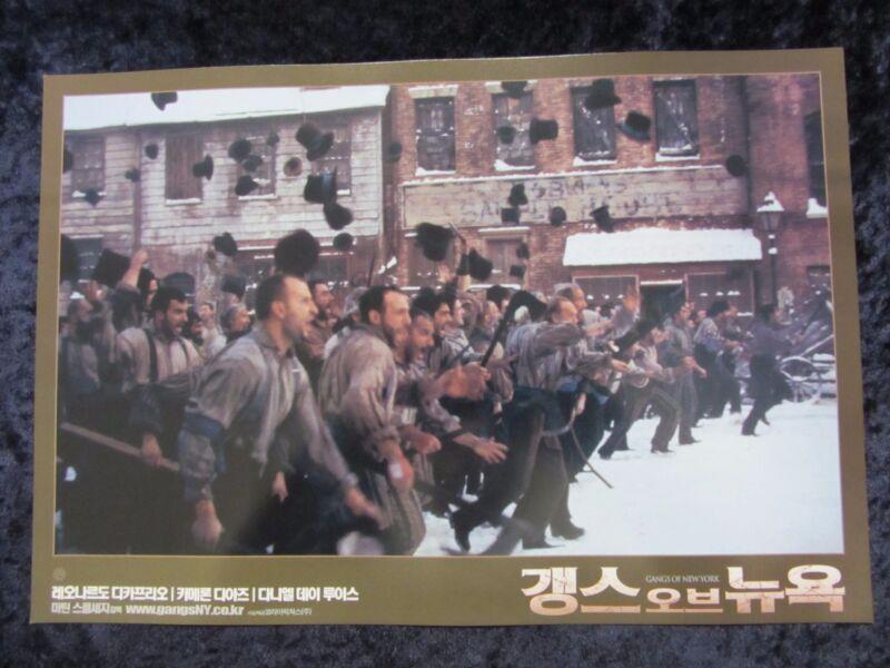 Gangs Of New York  lobby card # 7  Martin Scorsese