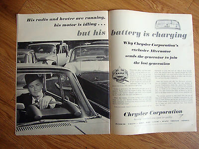 1961 Chrysler Plymouth Valiant Dodge Desoto Imperial Ad 1961 Fiat Ad