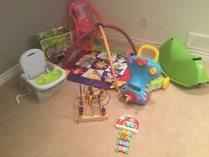 Assorted children items & toys