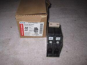 CUTLER HAMMER CH230 CIRCUIT BREAKER, 30 AMP, DOUBLE POLE PLASTIC FOOT