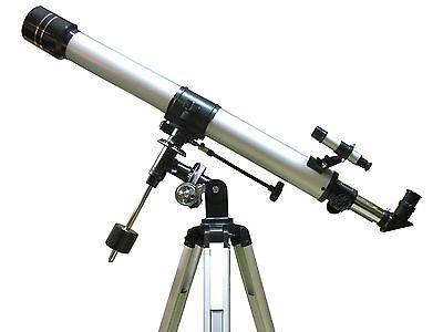 Orbinar 900/70 EQ2 Refraktor Teleskop Achromat Fernrohr