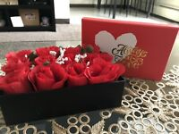 Roses nin the books perfect gift for birthday