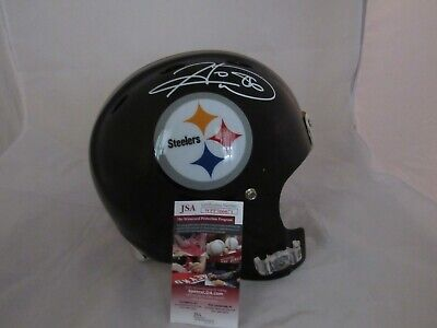 - Hines Ward Pittsburgh Steelers Full Size Authentic Helmet JSA Signed Autograph