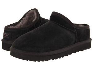 NEW UGG Sz 6 Women's Black Classic Slippers