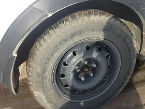 4 215/70/r16 general ultimax arctic winter tires on rims