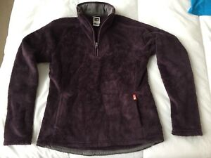 THE NORTH FACE purple soft zip-up sweater for only $20