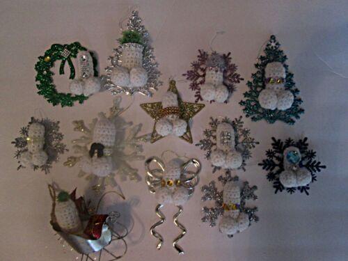 mature christmas ornament, handmade penis assorted bundle
