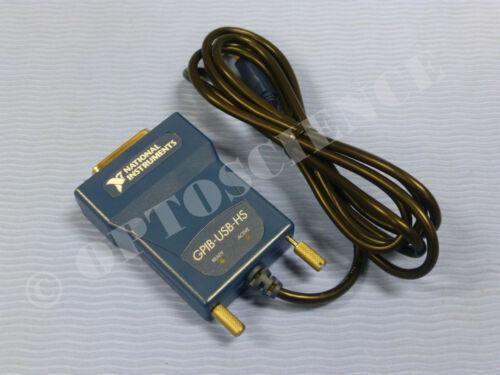 National Instruments NI GPIB-USB-HS Interface Adapter 187965J-01L