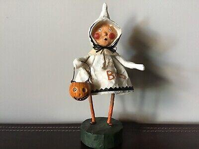 Lori Mitchell Halloween Figurines (Lori Mitchell - Little Boo Trick or Treat Figurine - Halloween Decor -)