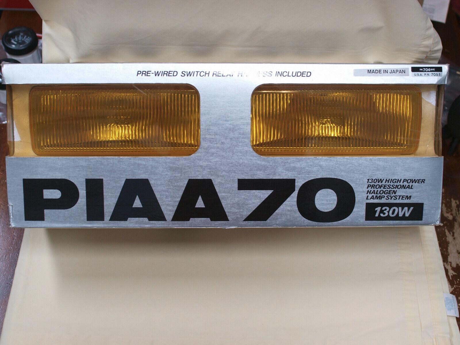 PIAA 70 Series 130W Ion Crystal Lamp Kit - NOS