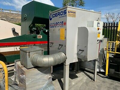 Sideros Ecolaser Eco4ex Dust Collector For Cnc Laser Plasma Cutting
