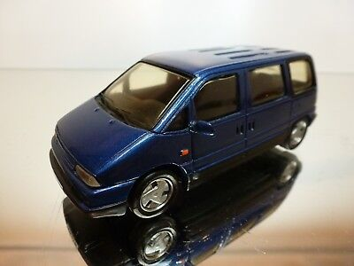 MINI ROUTE CITROEN EVASION 2.0 SX 1995 BLUE METALLIC 1:43 VERY GOOD 4