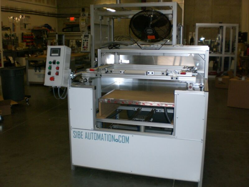"""SIBE AUTOMATION VACUUM FORMING MACHINE 24"""" X 36"""" AUTOMATIC INFRARED HEATERS NEW*"""
