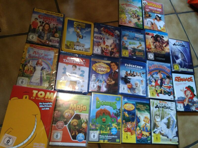 Kinder Serien Boxen / Filme - Dvd & Blu Ray Sammlung / Paket Neu