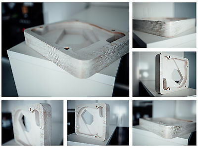 Plinth for Thorens TD 124, TD 121 barocco style,patina for sale  Shipping to United States