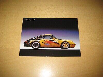 Postkarte Porsche 911 Carrera Super Cup Rene Staud Card