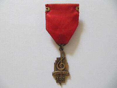 NYSSMA   NY State School Music Association   Orden   Pin   Vintage   USA   Ehrun