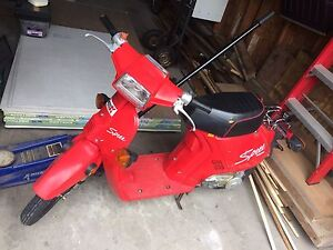 Honda Spree 1986 50cc scooter