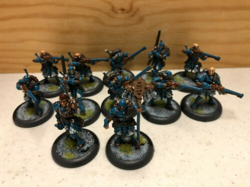 Warmachine Houseguard Riflemen with Officer and Standard - Retribution Unit