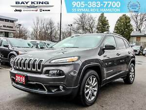 2018 Jeep Cherokee 4X4, BACK UP CAM, BLUETOOTH, REMOTE START, TO