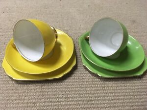 Retro Tea Cups and Ssucers