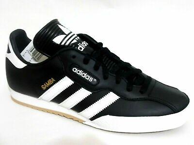adidas Samba Super Black / White 019099 Mens Leather Trainers