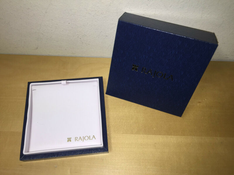 New Rajola Necklace Case Box Box Case of Necklace - for Collectors