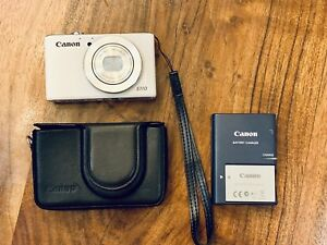 Canon PowerShot s110 with leather case